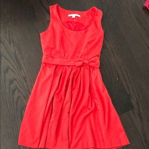 Lauren Conrad red dress with bow